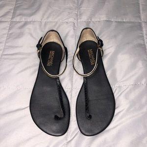 Micheal Kors | Black Sandal Size 6